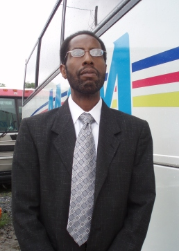 Charles Major of Major Tours, Inc., lead plaintiff in a lawsuit challenging discriminatory practices by the New Jersey Department of Transportation.