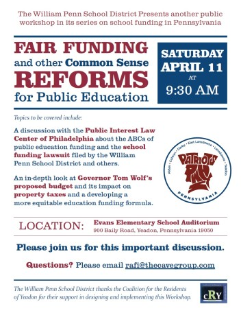 Fair Funding and Other Common Sense Reforms for Public