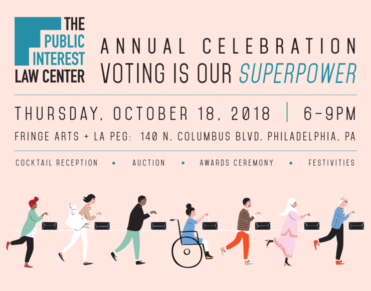 October 18, 2018 - The Public Interest Law Center Annual Celebration