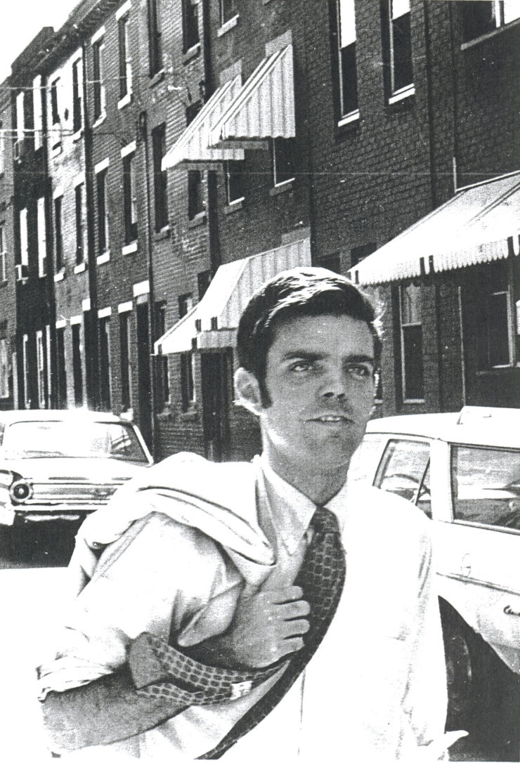 Thomas Gilhool, lead attorney in PARC v. Commonwealth, in 1969.