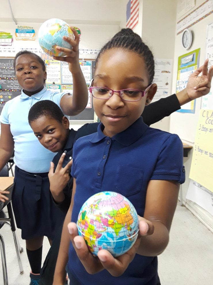 Fourth Grade Students from the William Penn School district