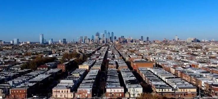 philadelphia cityscape wide