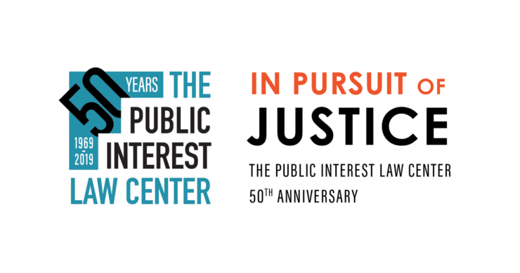 The Public Interest Law Center - 50th Anniversary - 2019 Annual Celebration - In Pursuit of Justice
