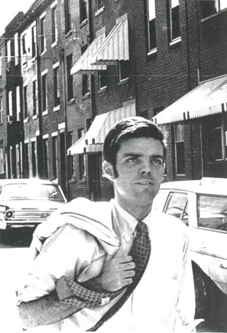 Tom Gilhool campaigning in Philadelphia in 1969