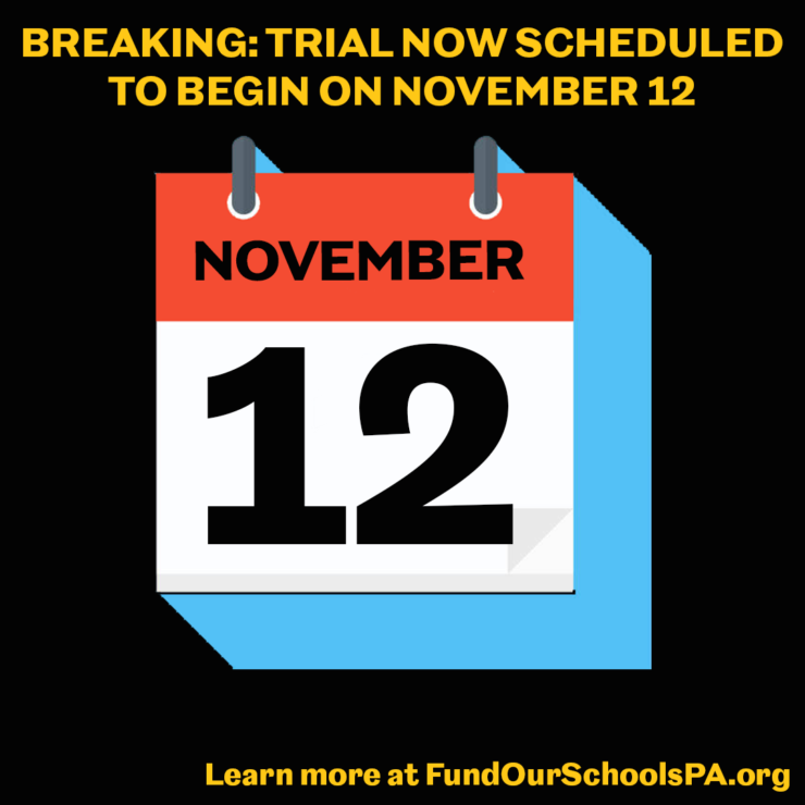 School funding trial set to start November 12